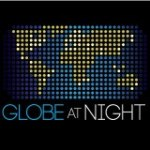 Globe at night