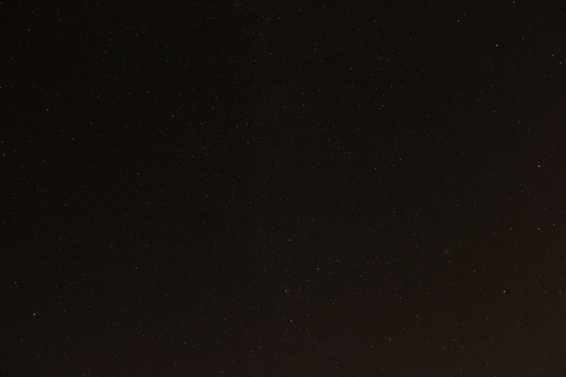 Nachthimmel mit Andromeda Galaxie