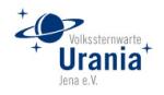 Logo der Volkssternwarte Jena