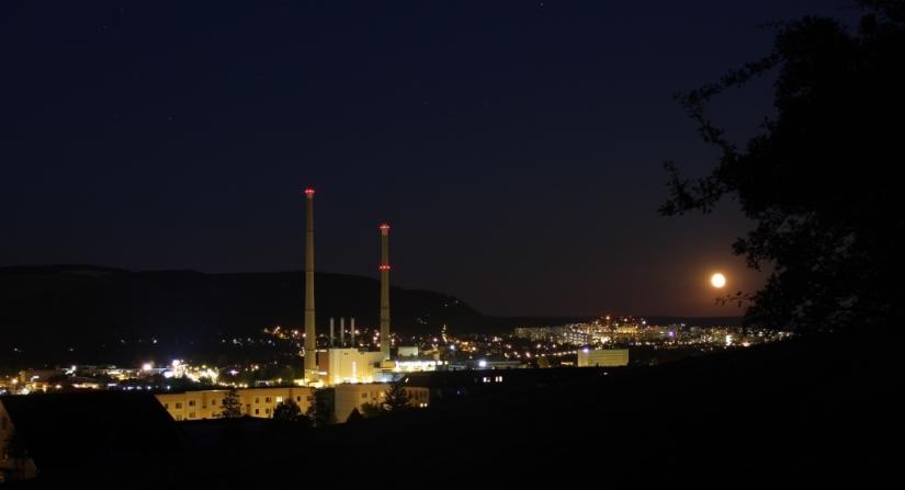 Mondaufgang über Jena