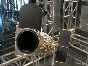 Modell des Hubble Teleskopes
