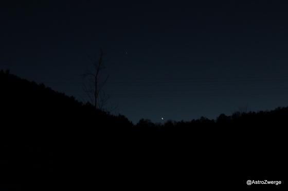 Venus und Mars im Westen