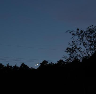 Monduntergang am 20.04.2015
