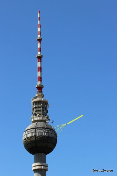 Berliner Fernsehturm wird zum Todesstern