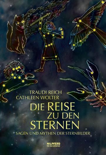 """Buchcover """"Die Reise zu den Sternen"""""""