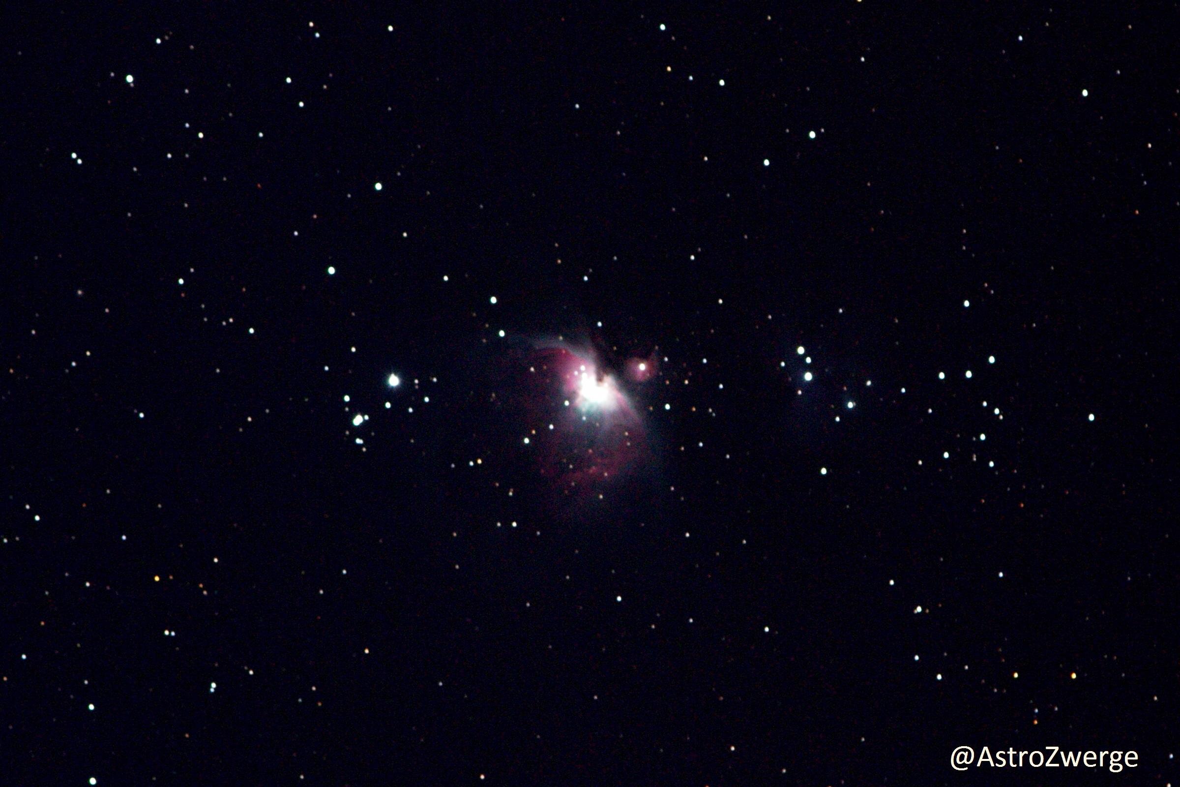eigenes Foto des Orionnebels