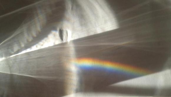 Regenbogen Wasserglas