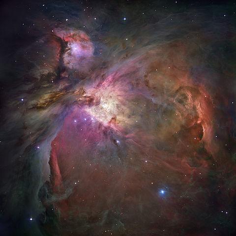 Hubbleaufnahme des Orionnebels
