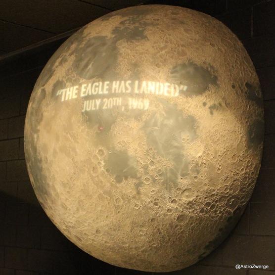 Landeplatz der ersten bemannten Mondlandung - Witzigerweise waren wir am 21.7. dort, also 47 Jahre und ein Tag später.