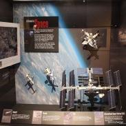 die verschiedenen Weltraumstationen