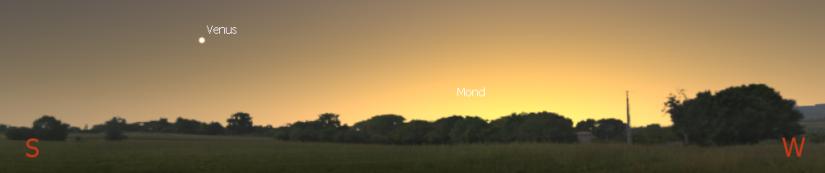 Venus am 30.11. gegen 16:30 Uhr