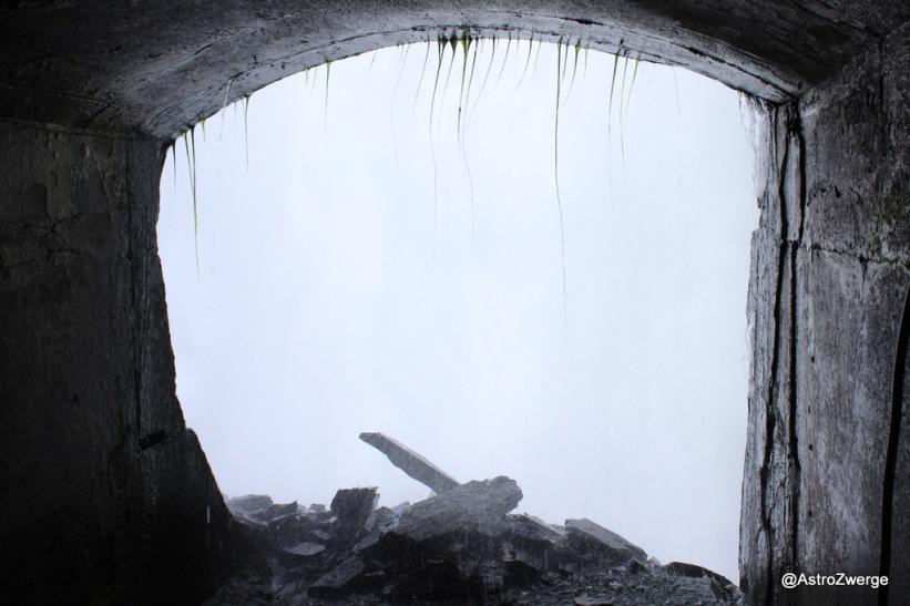 Blich durch den Wasservorhang