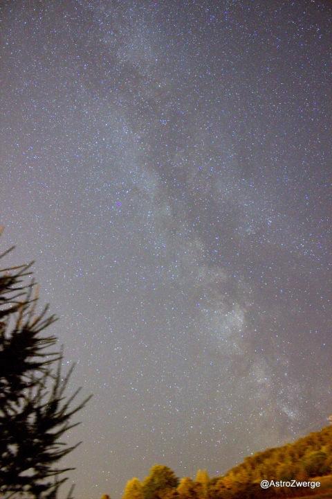 Milchstraße im August