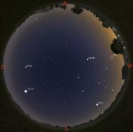Sternenhimmel für AstroZwerge im April2017