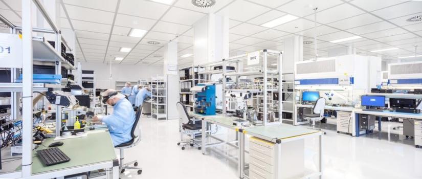 Reinräume Neubau Jena-Optronik