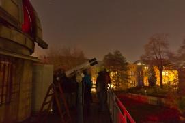 Teleskope an der Sternwarte (Bild der Urania Sternwarte)