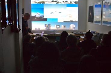 Vortrag (Bild der Urania Sternwarte)