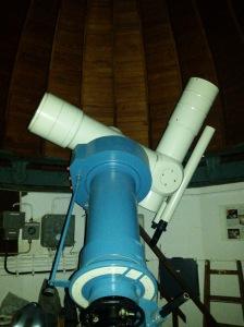 Teleskop Sternwarte Schillergässchen