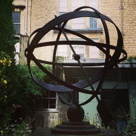 im Garten des Herschelmuseum Bath UK