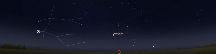 Stellarium Abbildung der Zwillinge