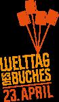 """Logo vom """"Welttag des Buches am 23. April"""""""