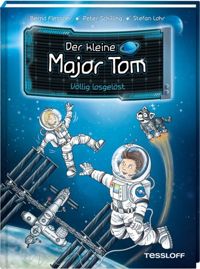 "Cover ""Der kleine Major Tom - Band 1"""