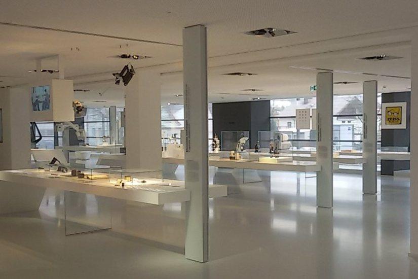 Blick in den Ausstellungsraum des Museums