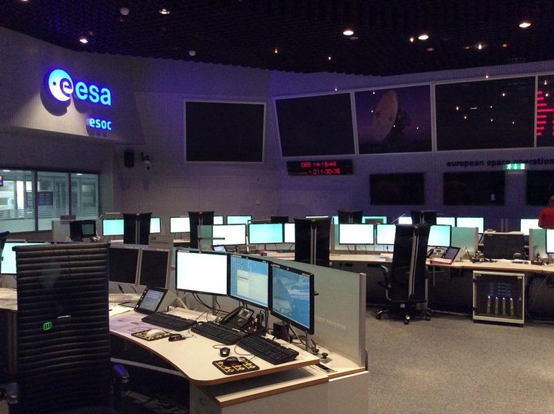 ESOC Hauptkontrollraum