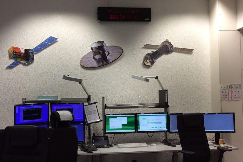 einer der Missionsräume beim ESOC
