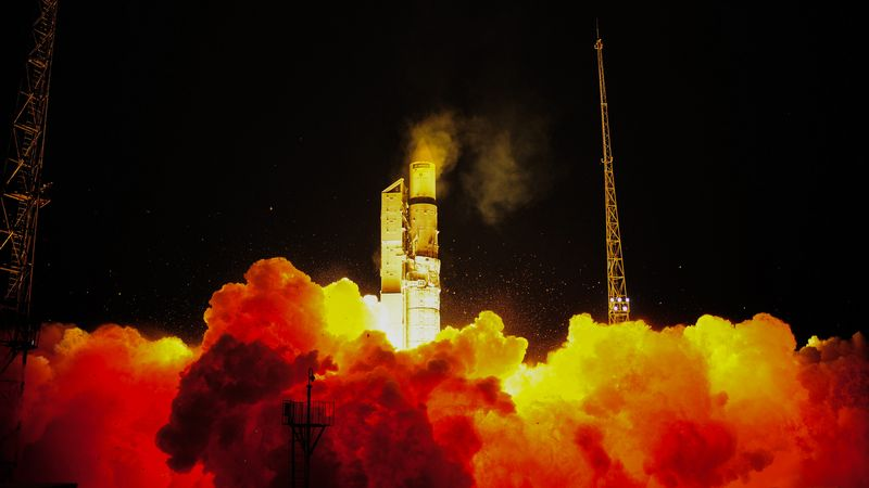 Start von Sentinel-3A