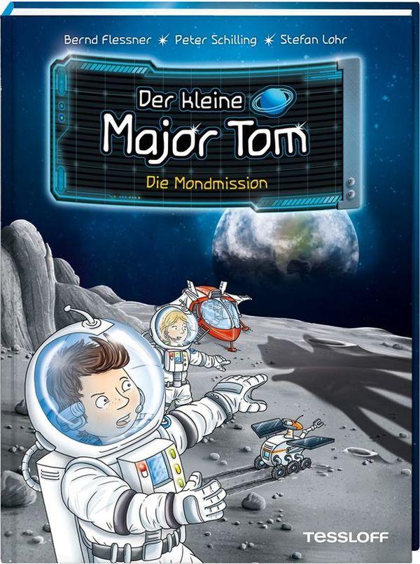 """Coverbild """"Der kleine Major Tom"""" Die Mondmission"""