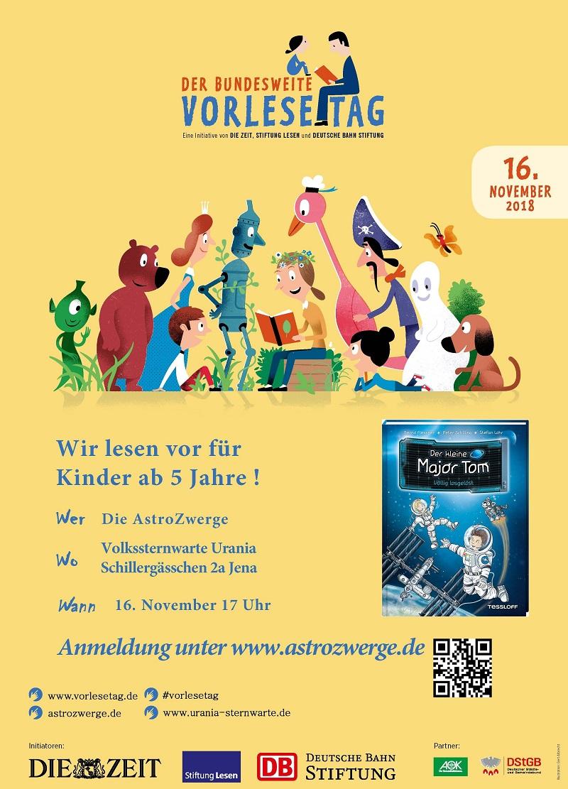 Plakat zum Vorlesetag
