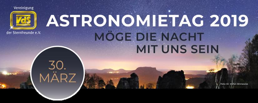 Banner des Astronomietag
