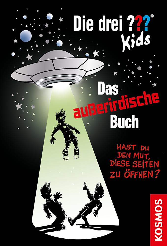 """Cover """"Die drei ??? Kids, Das außerirdische Buch"""""""