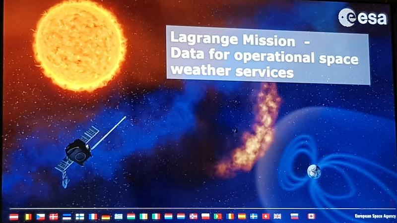 Präsentation: die Lagrange Mission