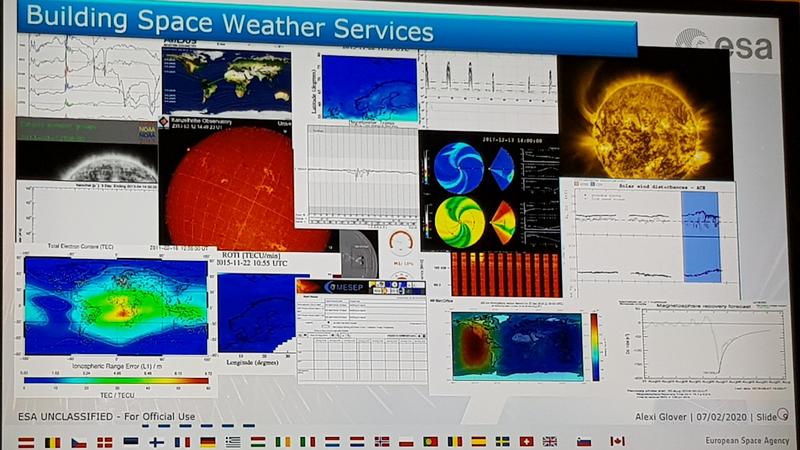 Präsentation: Weltraumwetterservice