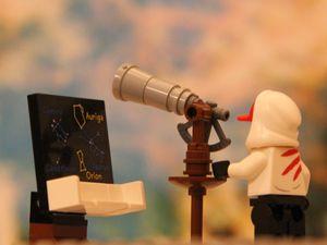 AstroZwerge kennen sich am Sternenhimmel aus. Dazu gibt es hier regelmäßig neue Aufgaben.